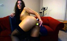 horny girl on webcam